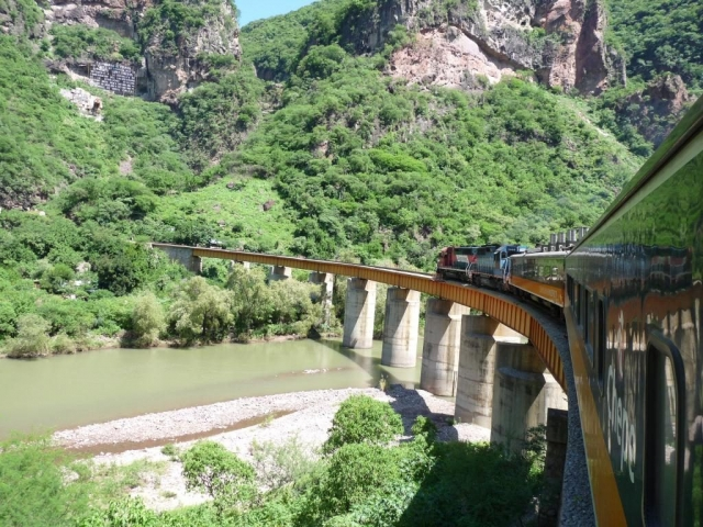 Mexico, Copper Canyon, El Chepe Train
