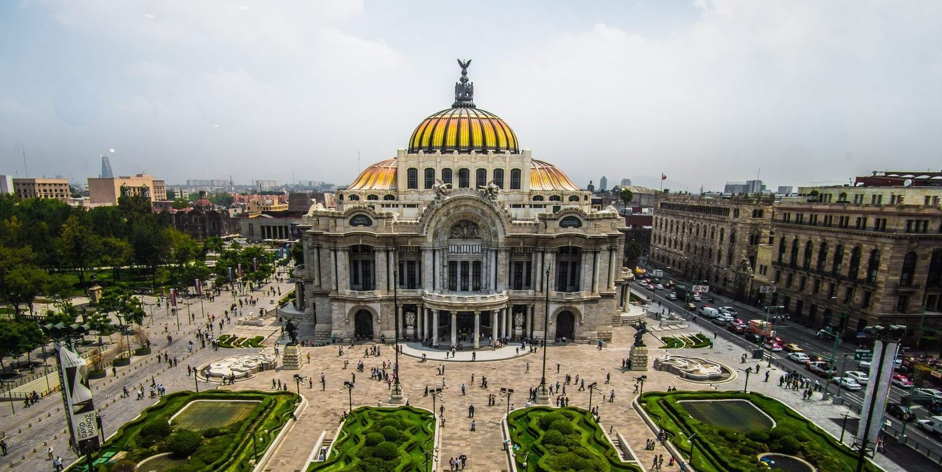 Mexico, Mexico City, Palace of Fine Arts