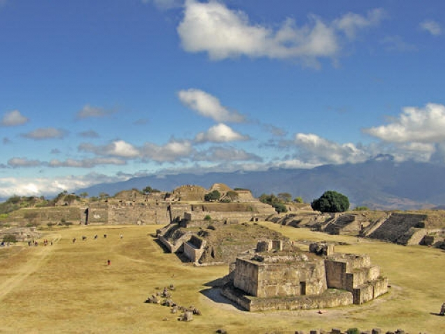 Magic Mexico, Monte Alban Archaeological Ruins