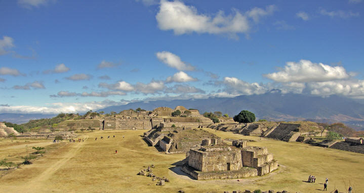 Magic Mexico, Monte Alban Archaeological Ruins