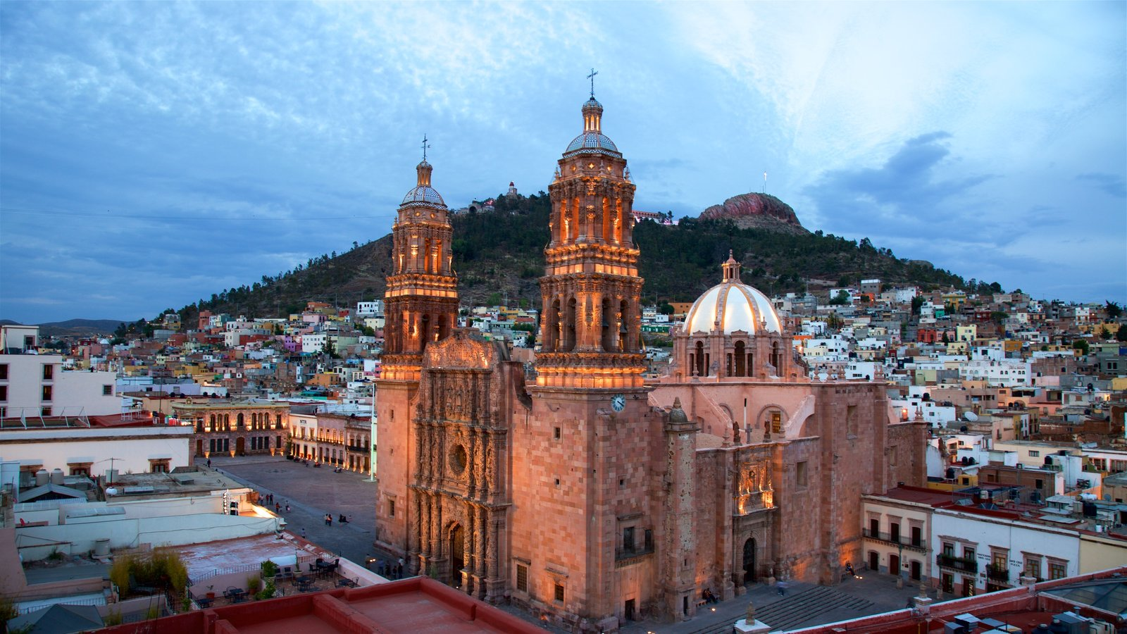 Mexico, Zacatecas, Cathedral