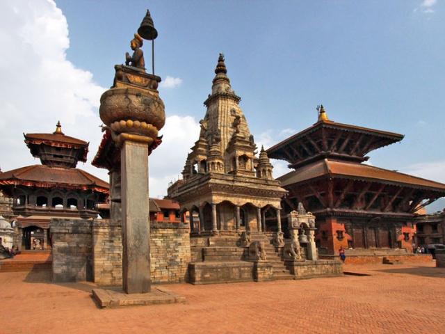 Nepal, Kathmandu, Bhaktapur Durbar Square