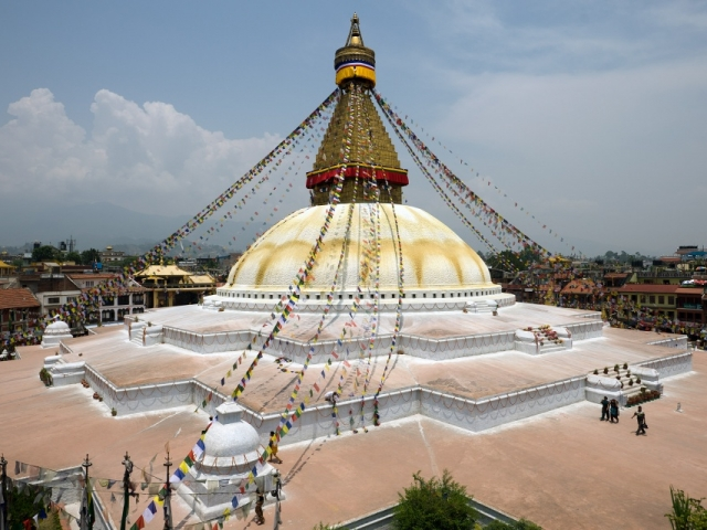 Nepal, Kathmandu, Boudhanath