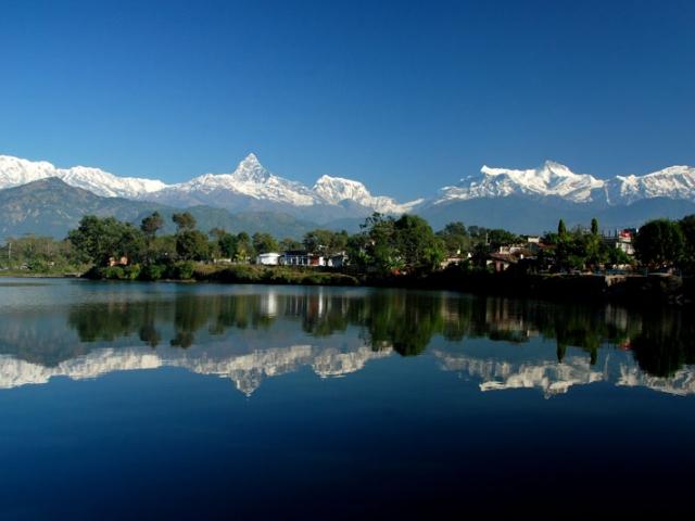 Nepal, Pokhara, Phewa Lake