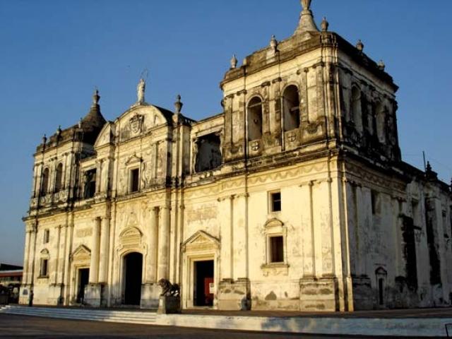 Nicaragua, Leon, Catheral of Leon