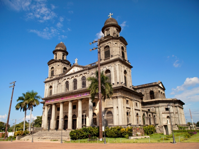 Nicaragua, Managua, Old Cathedral