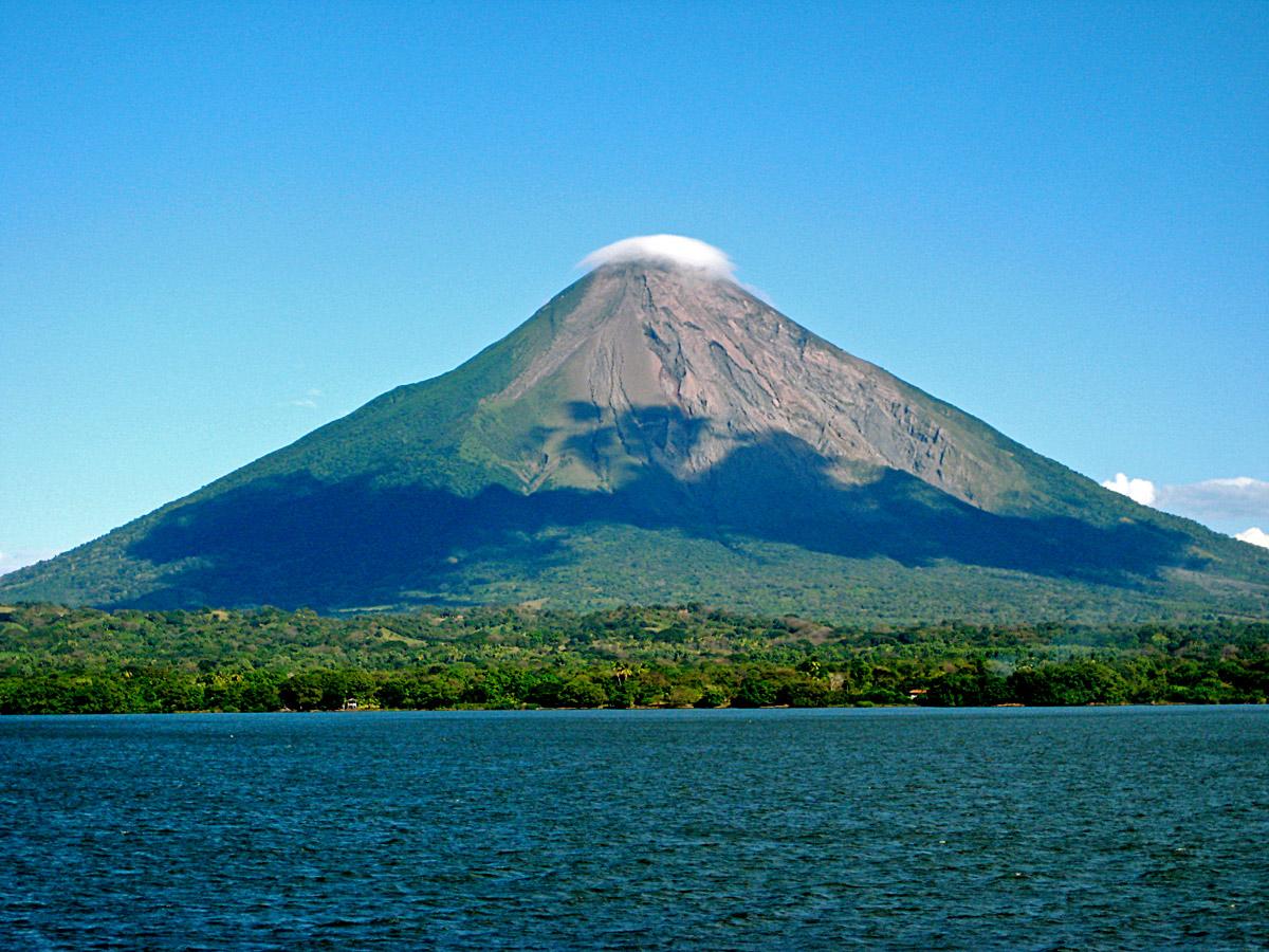 Nicaragua, Ometepe Island, Volcano