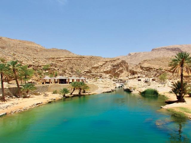 Oman, Wadi Bani Khalid, Prasad Pillai
