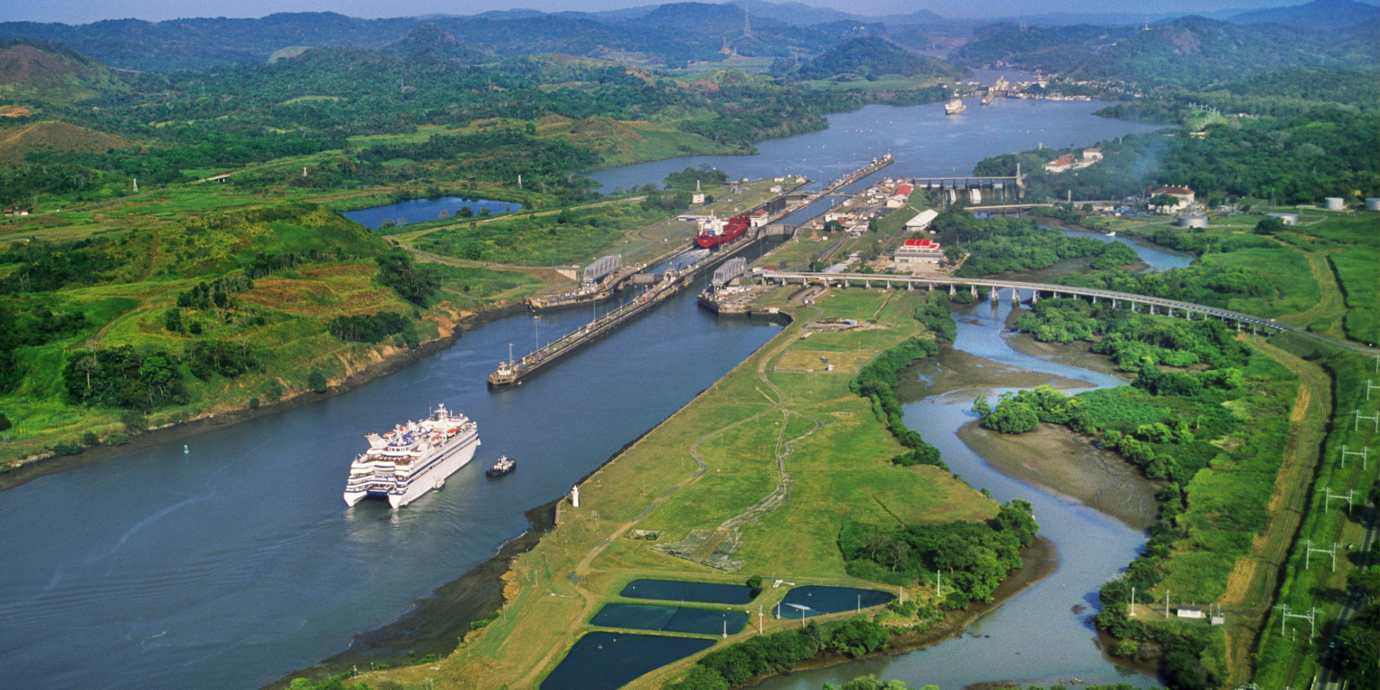 Central American Explorer, Panama, Panama City Canal