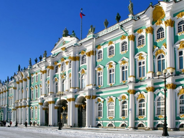 Russia, St Petersburg, Tsar's Winter Palace