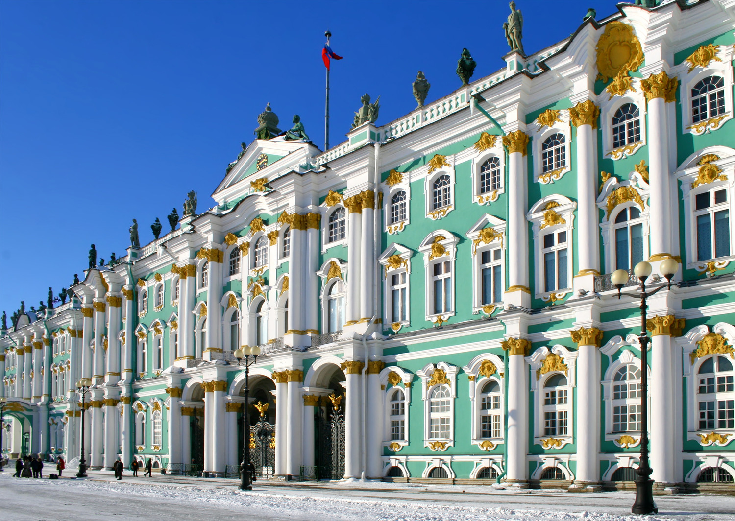 Wonders of St Petersburg & Moscow | Tsar's Winter Palace, St Petersburg, Russia