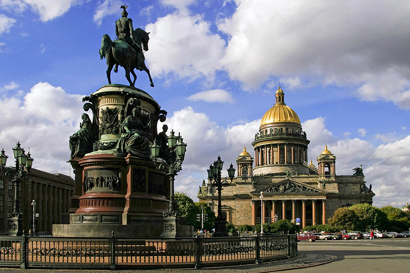 Russica, St Petersburg, St Isaacs Cathedral