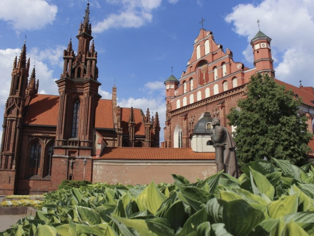 Highlights of the Baltics | Saint Anne's Church, Vilnius, Lithuania