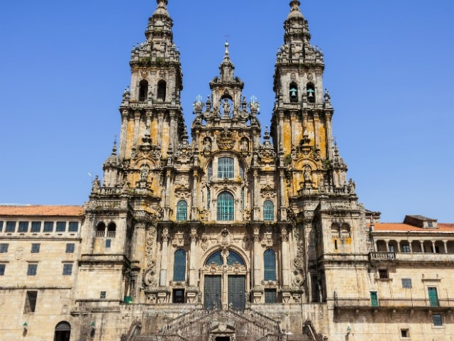 Northern Spain, Cathedral of Santiago de Compostela, Santiago De Compostela, Spain