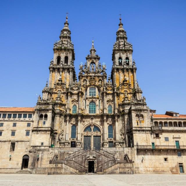 Spain, Santiago De Compostela, Cathedral of Santiago de Compostela