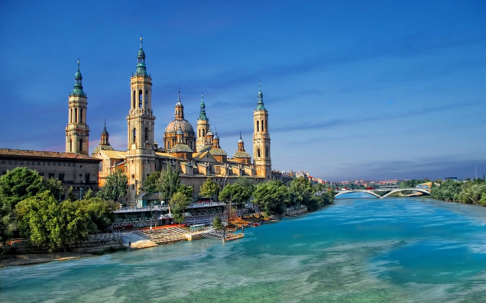 Best of Spain, Cathedral of El Pilar, Zaragoza, Spain