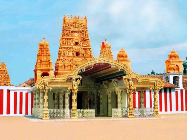 Sri Lanka, Jaffna, Nallur Kandaswamy Kovil