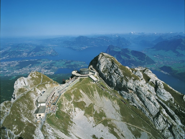 Switzerland, Lucene, Mount Pilatus