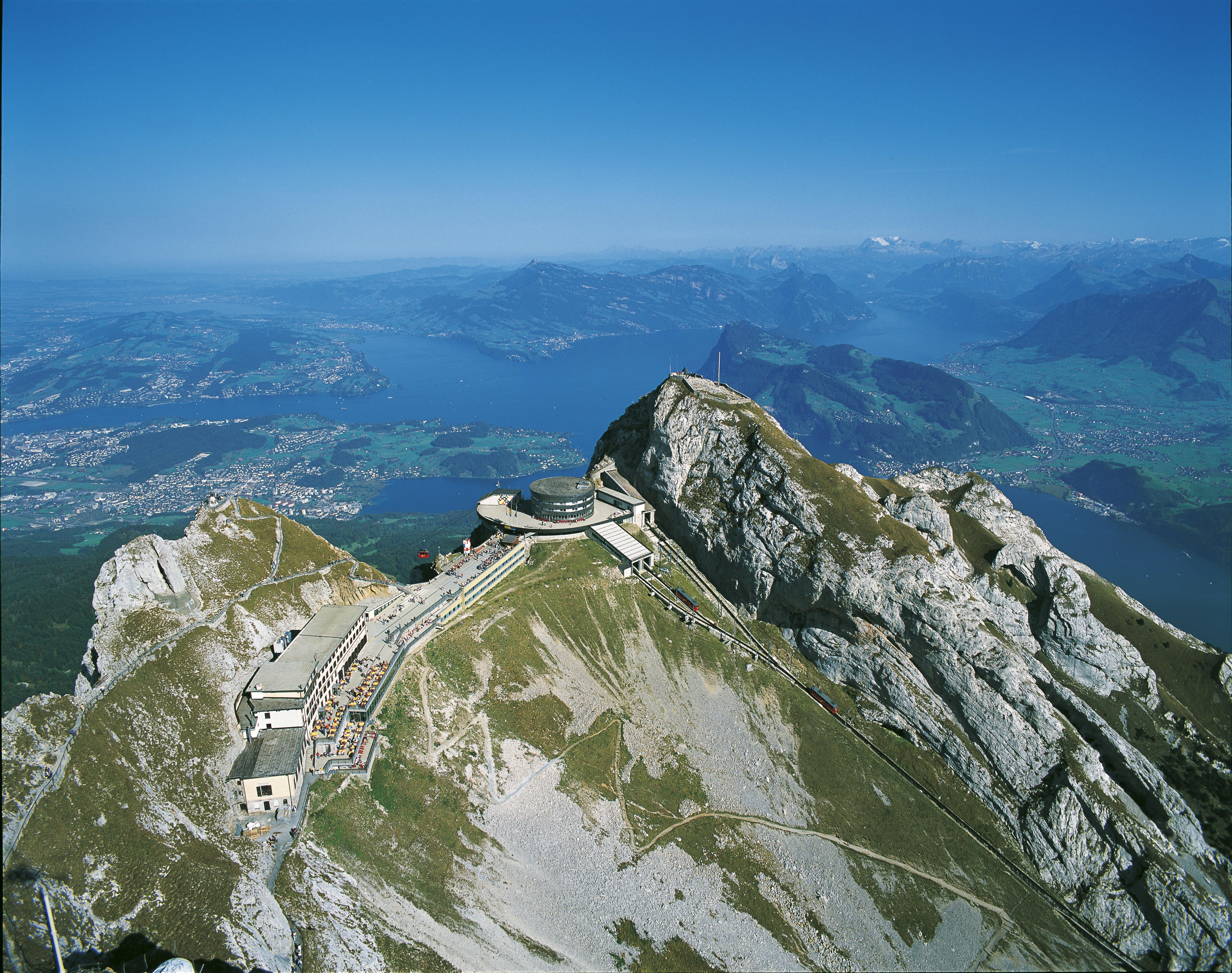 Switzerland, Lucene, Mount Pilatus