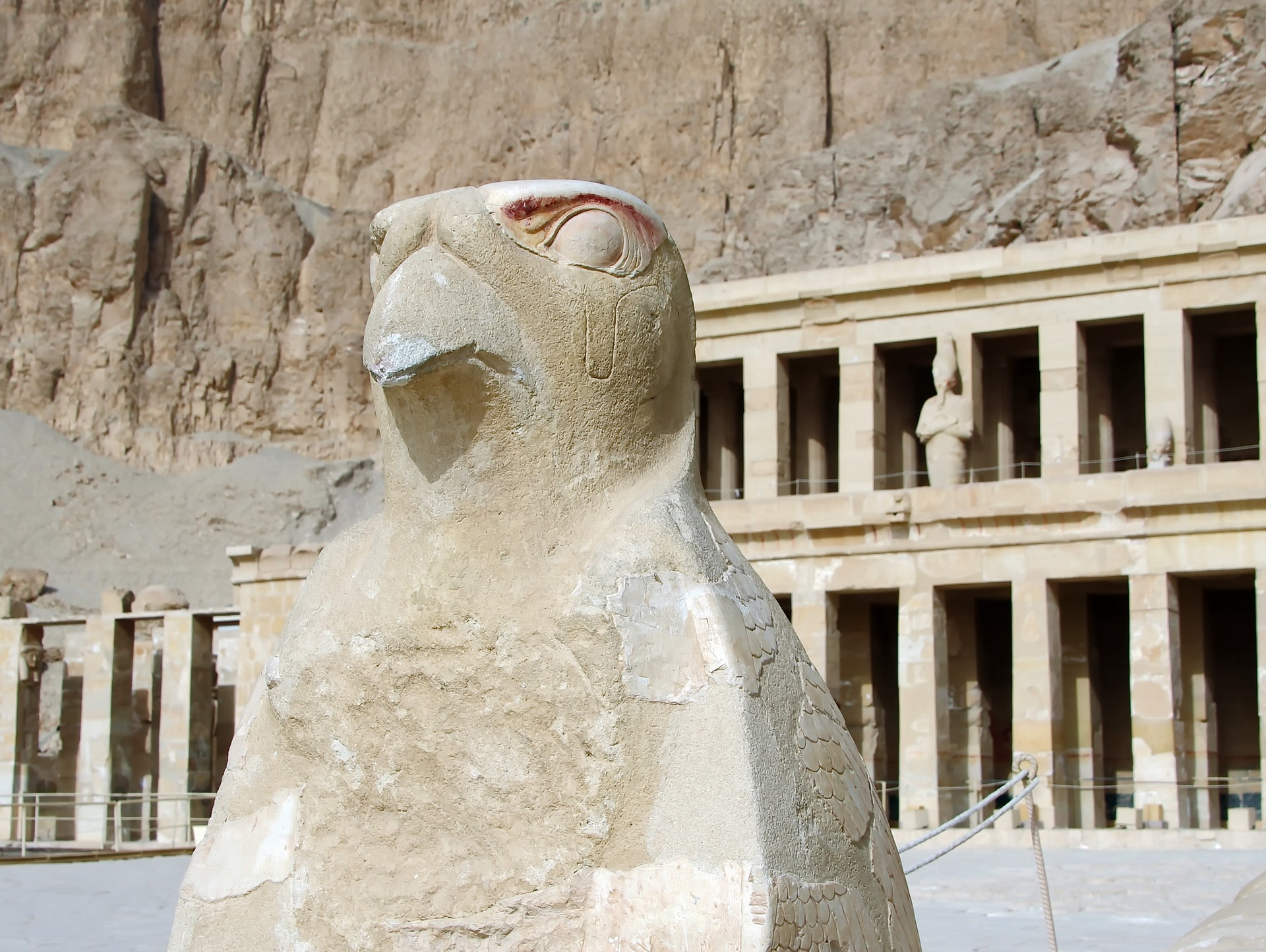Splendours of Egypt - Temple of Hatshepsut, Luxor, Egypt