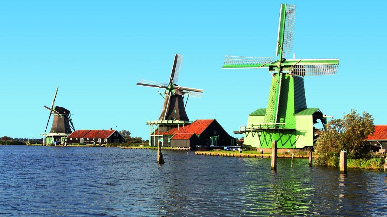 Best of Holland - Windmills, Volendam, The Neverlands