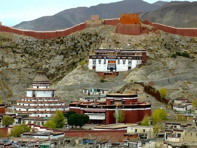 Classic Tibet - Pelkor Monastery, Gyantse, Tibet