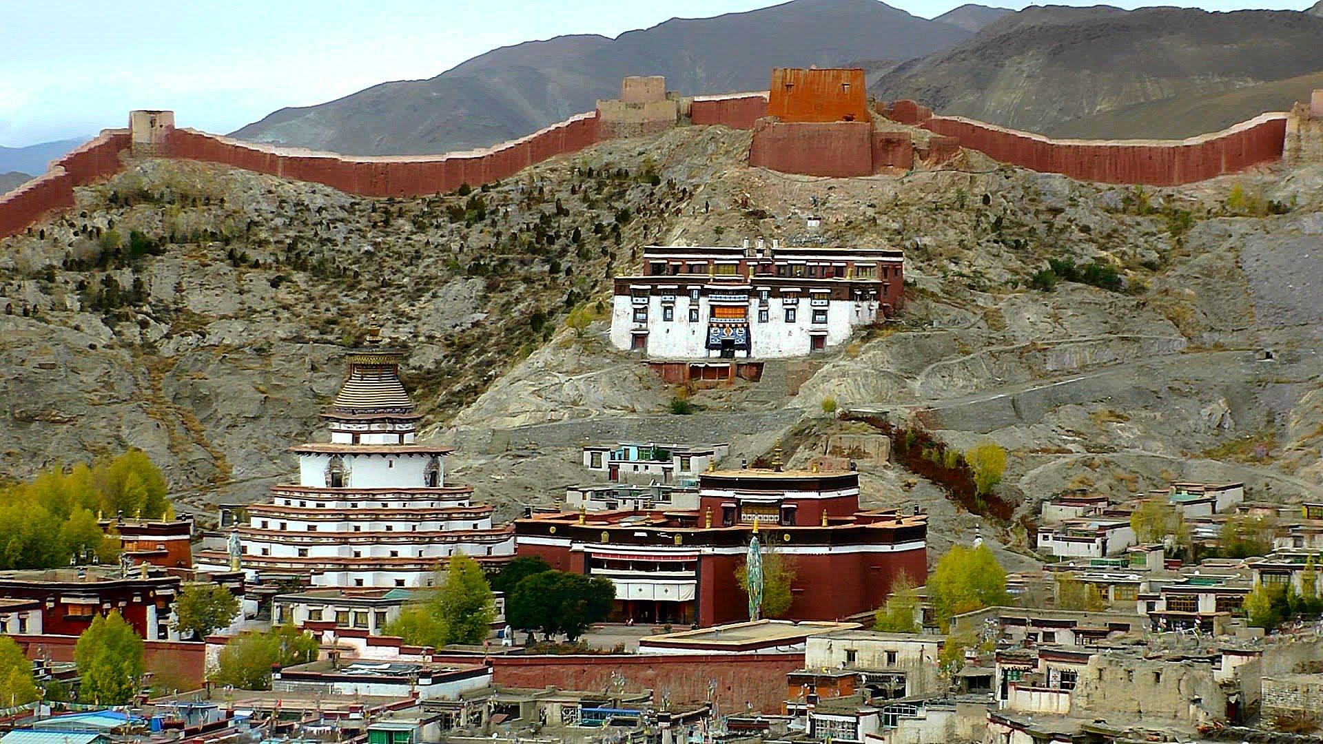 Tibet, Gyantse, Pelkhor Chode Temple