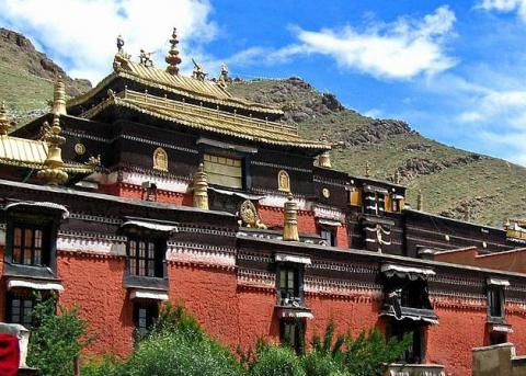 Tibet, Shigatse, Tashilunpo Monastery