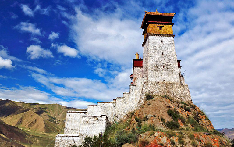 Tibet, Tsedang, Yumbulagang Palace