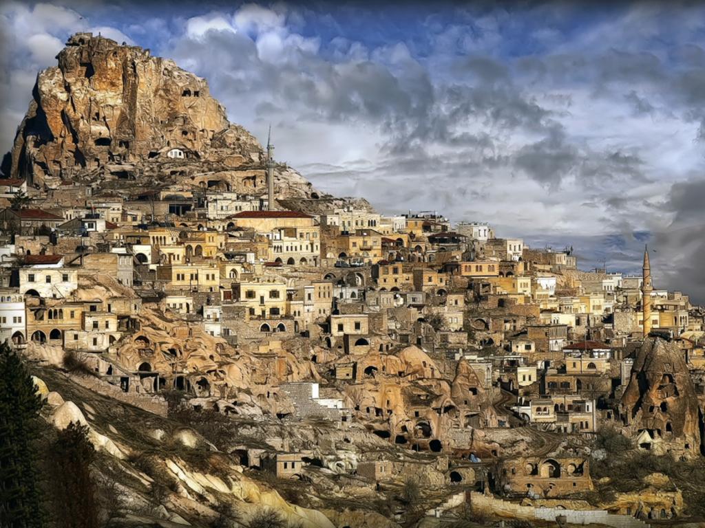 Turkey, Cappadocia, Old Town Goreme