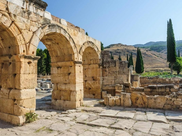 Best of Turkey | Ancient ruins of the Roman Health Spa, Hierapolis, Turkey