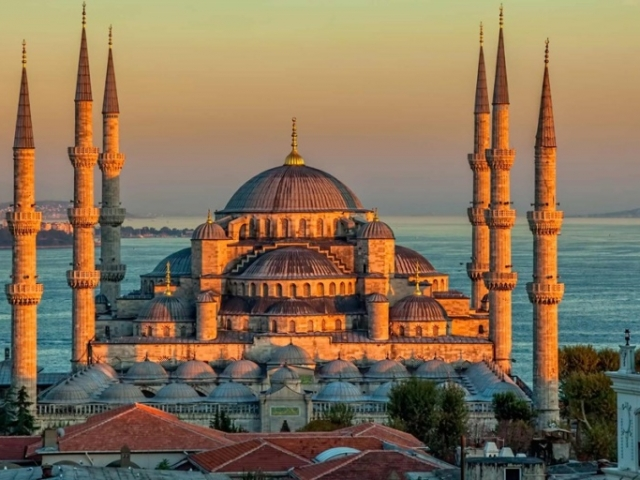 Turkey, Istanbul, Blue Mosque