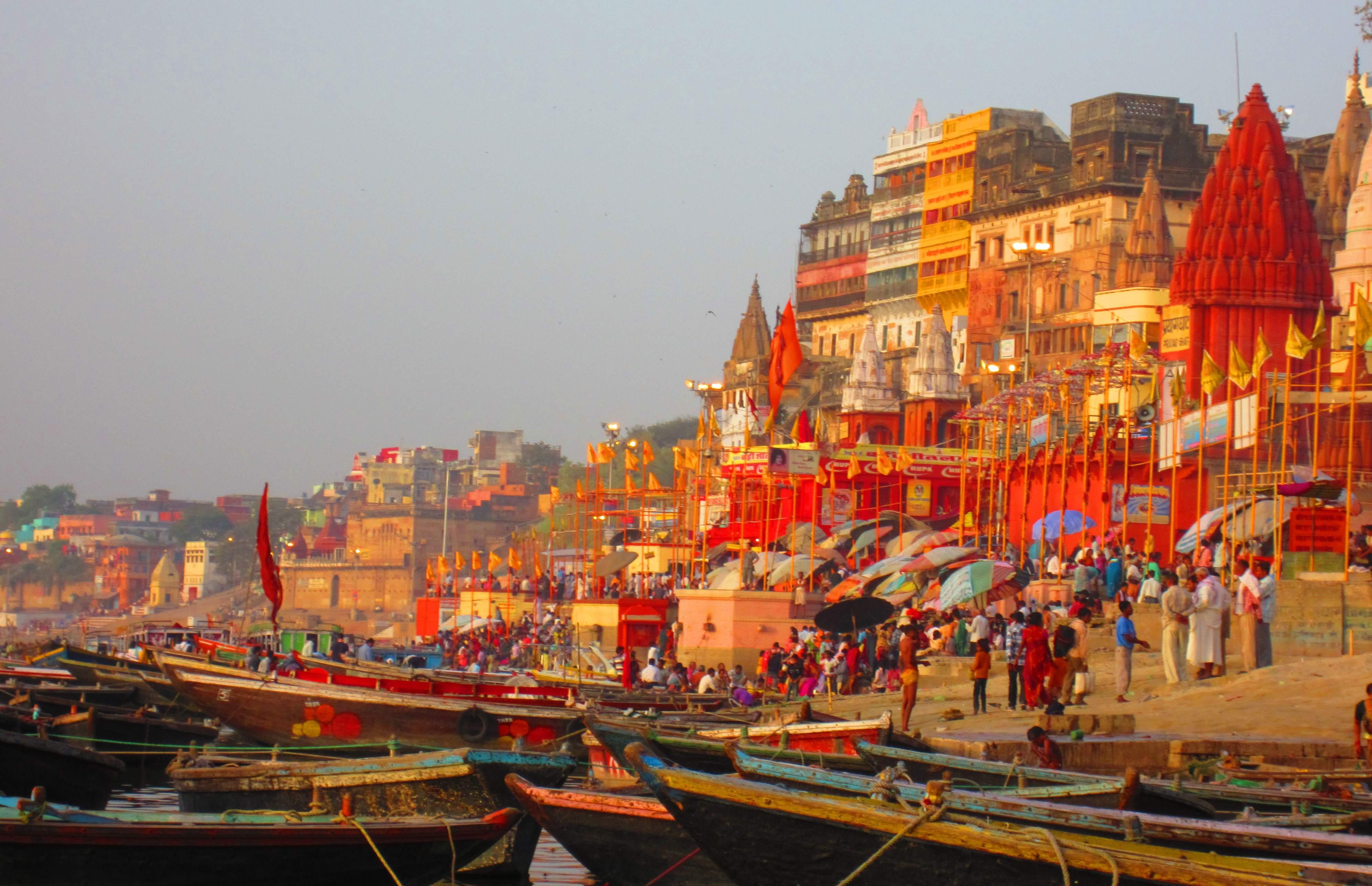 India, Varanasi, Ganga