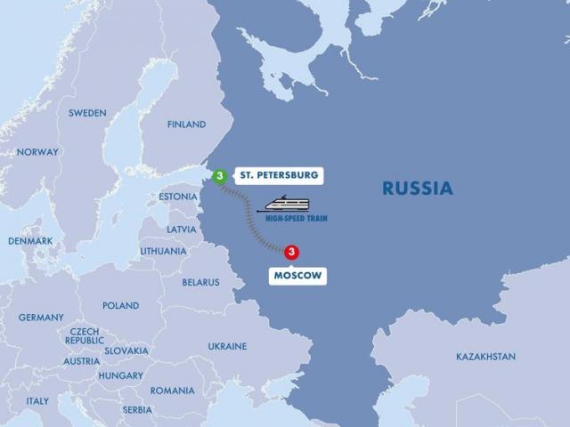 Wonders of St Petersburg & Moscow