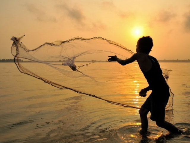 CF Mekong River Cruises, River Scene