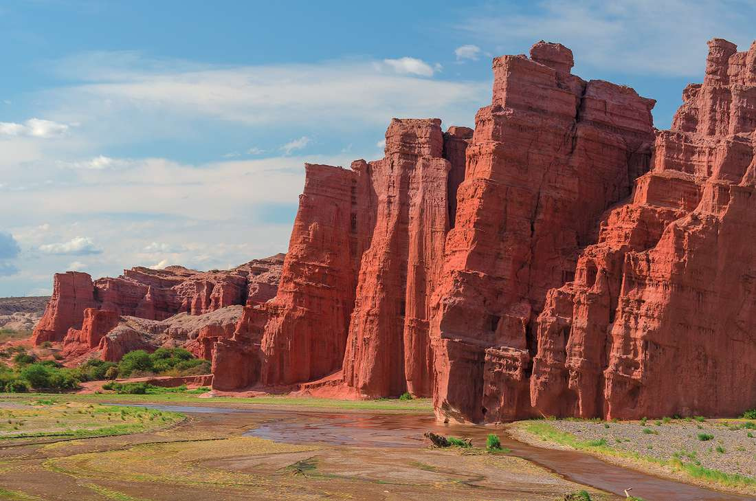Argentina, Saltry, Quebrada de las Conchas (the Shells' Gorge)