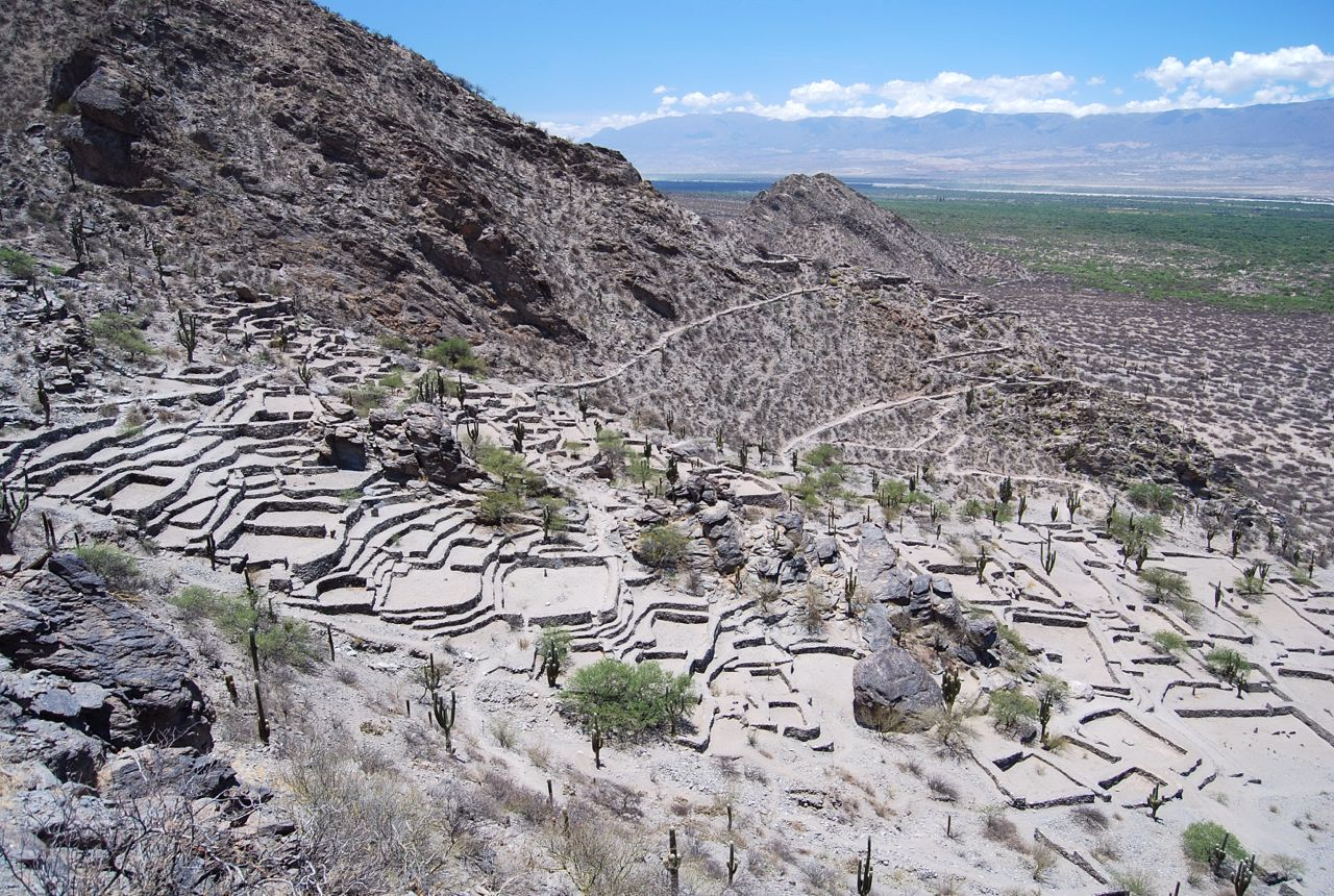 Argentina, Valley of Tafi, Quilmes Ruins