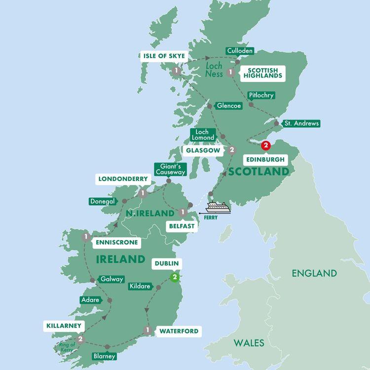 Best of Ireland & Scotland