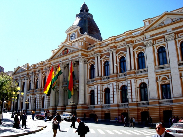 Bolivia, La Paz, Government Palace