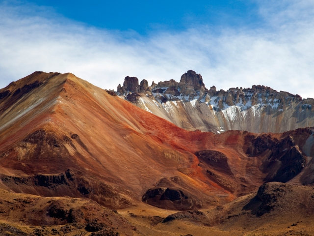 Bolivia, Thunupa Volcano