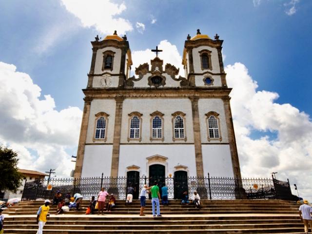 Brazil, Salvador, Church of Nosso Senhor do Bonfim
