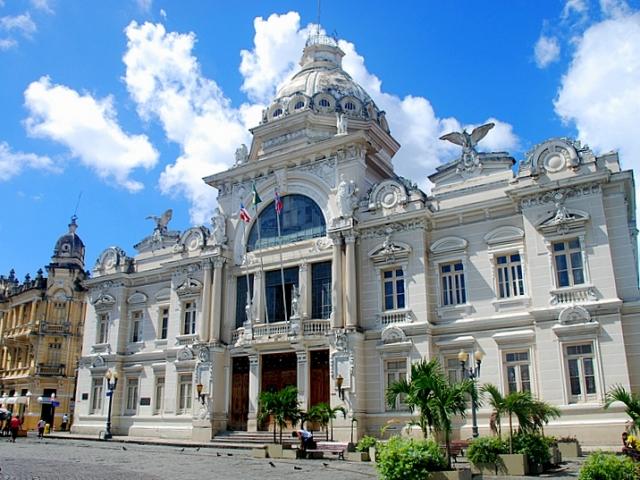 Brazil, Salvador, Palacio Rio Branco