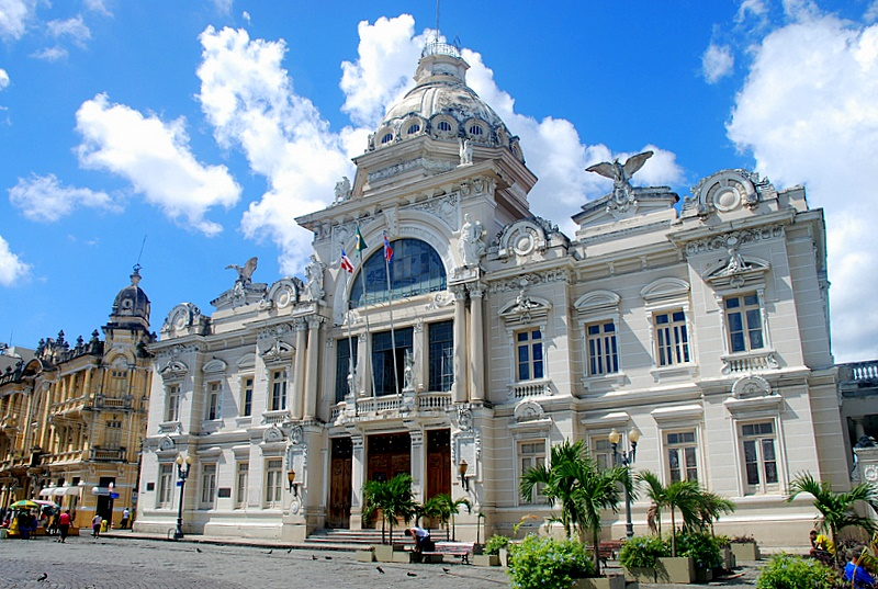 Discover Salvador | Palacio Rio Branco, Salvador, Brazil