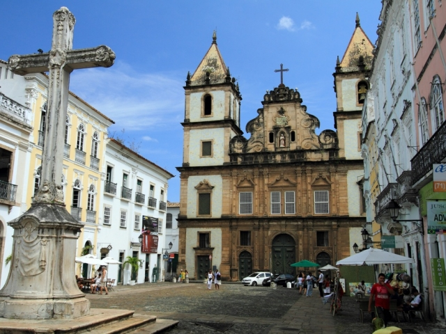 Brazil, Salvador, Sao Francisco Church & Convent