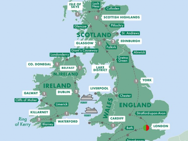 Britain & Ireland Grandeur