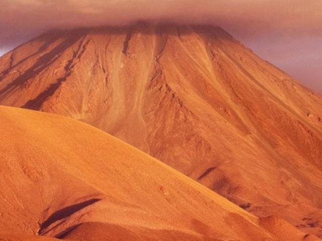 Chile, Atacama Desert, Moon Valley Mountain