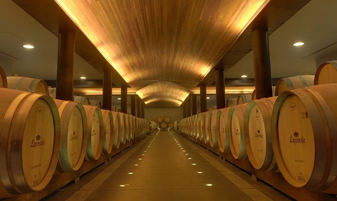 Chile, Colchagua Valley, Lapostolle Winery