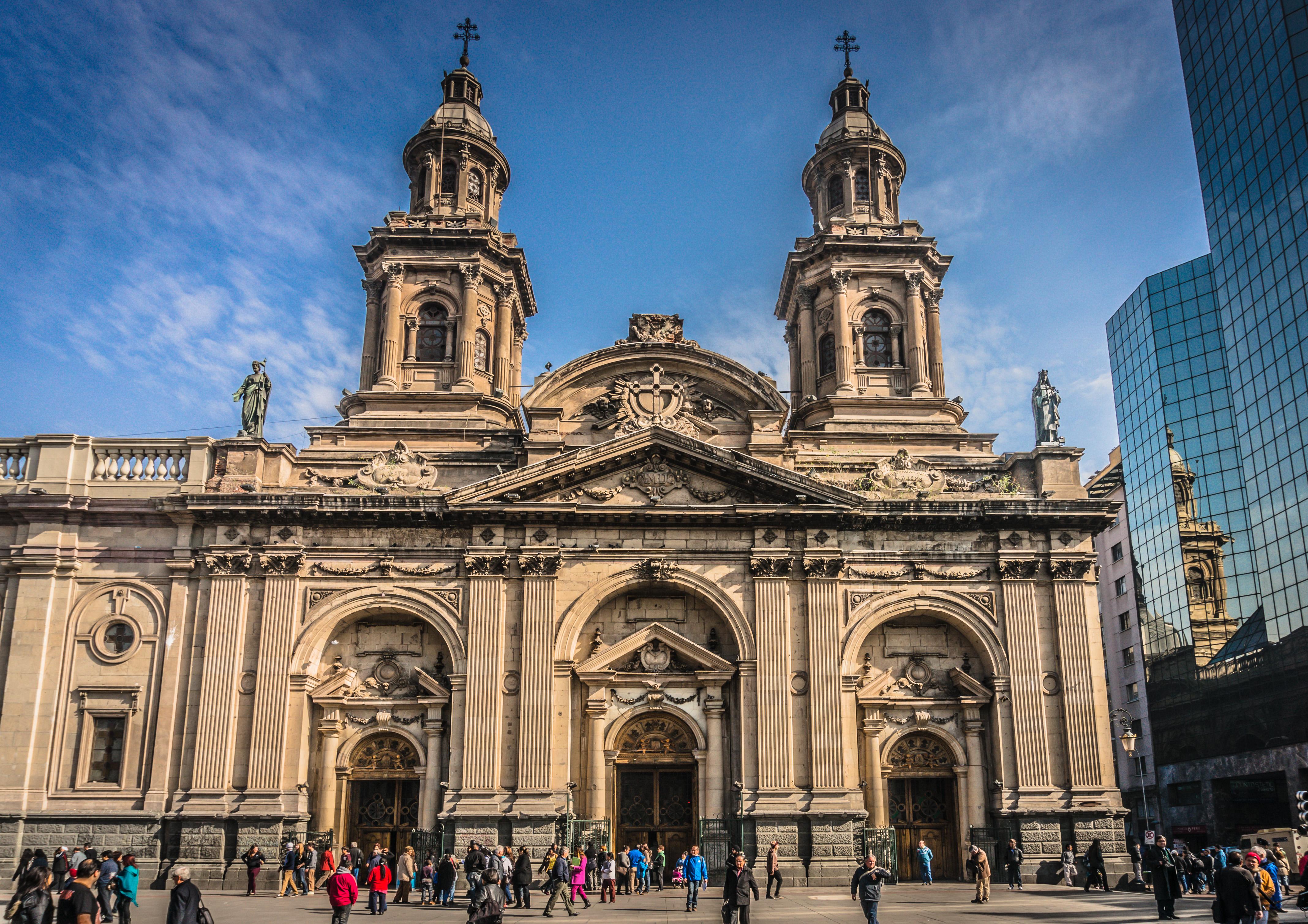 Chile. Santiago, Santiago Metropolitan Cathedral