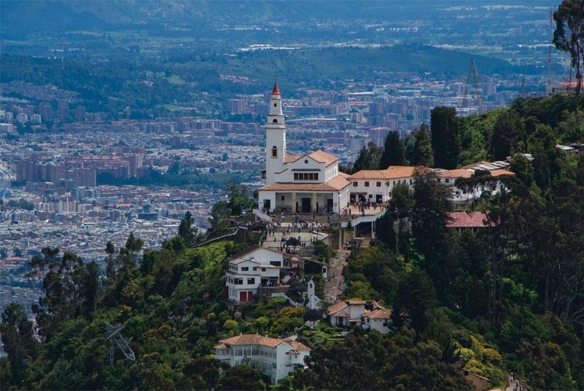 Colombia, Bogota, Monserrate Hill