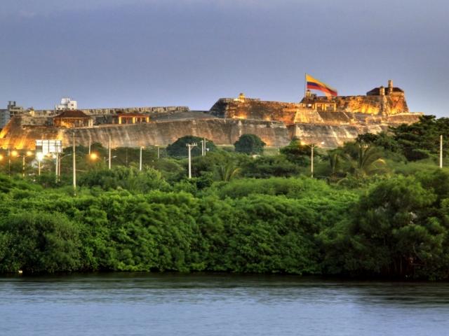 Colombia, Cartagena, San Felipe Fortress